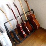 【HERCULES GS525Bレビュー】最大10本まで収納できるマルチギタースタンド