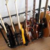 【HERCULES GS525Bレビュー】5本以上を収納できるギタースタンド