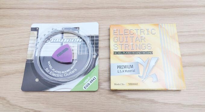 PlayTech製のエレキギター弦