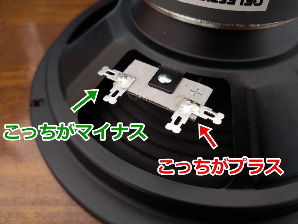 Celestion Eight15のコネクター