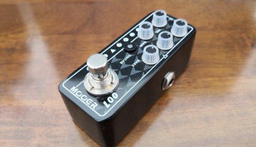 MOOER Micro Preamp 001 レビュー【超小型・多機能プリアンプ】