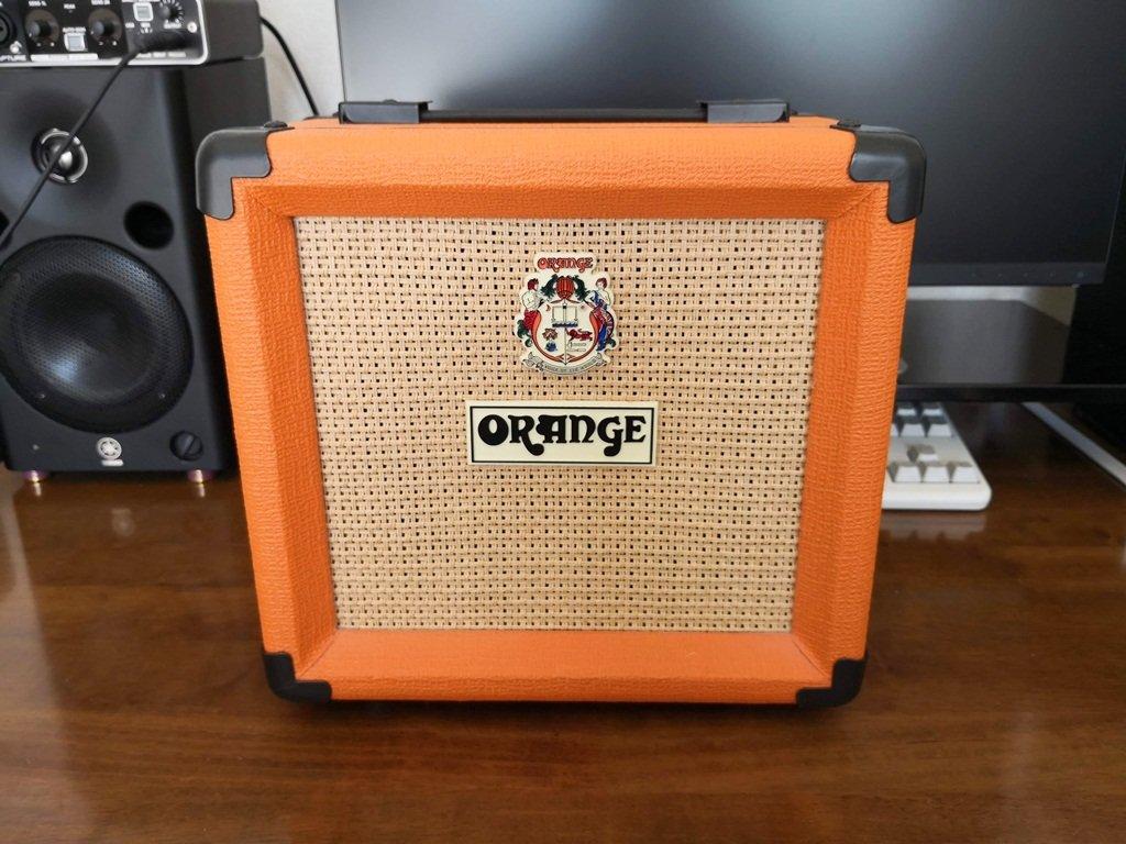 ORANGEのギターキャビネットPPC108