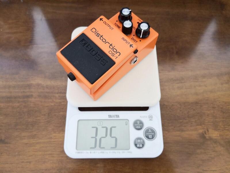 BOSS DS-1の重さ