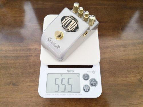 GV-2の重さ