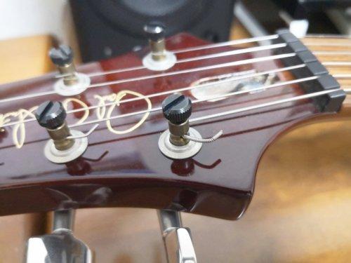 ロックタイプのギター