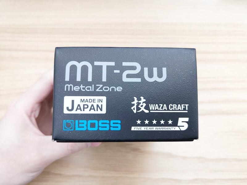 BOSS MT-2Wの箱
