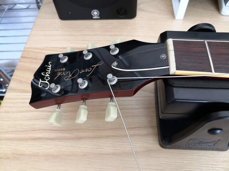 弦を90度折り曲げる