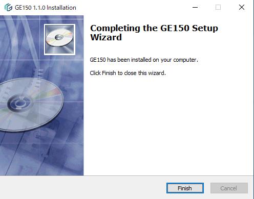 GE150用ソフトのインストール5