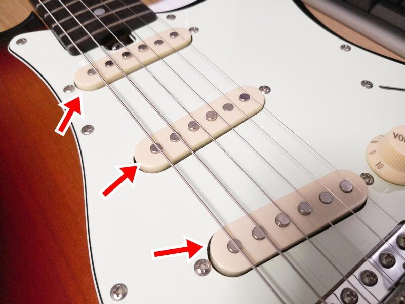 エレキギターのピックアップ