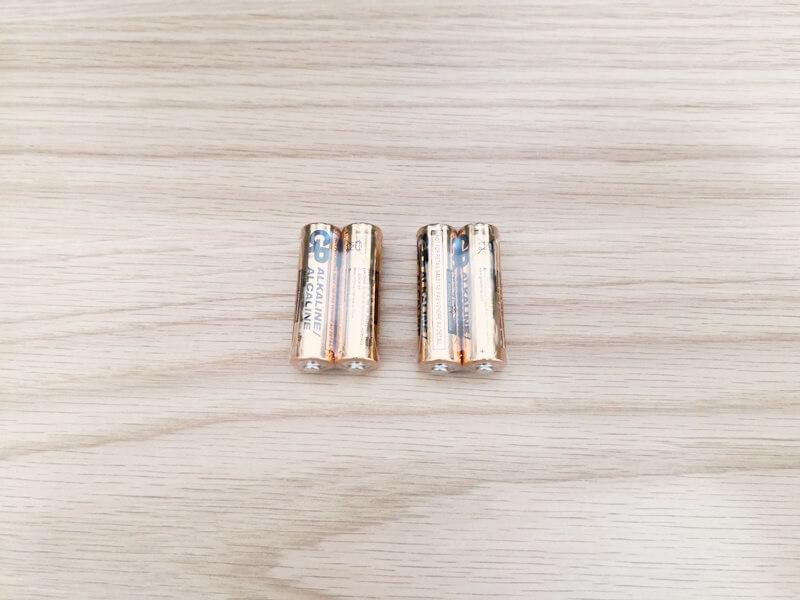 単3電池4つ