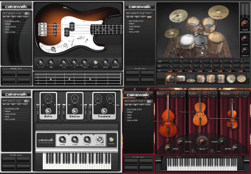 Studio Instruments Suite