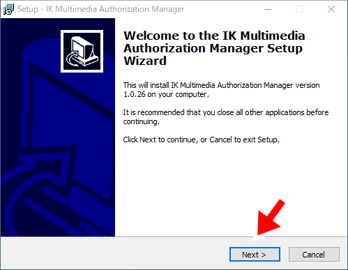 Authorization Managerのインストール1
