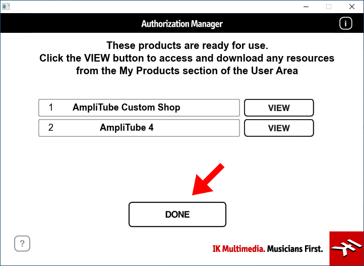 Authorization Managerの画面4