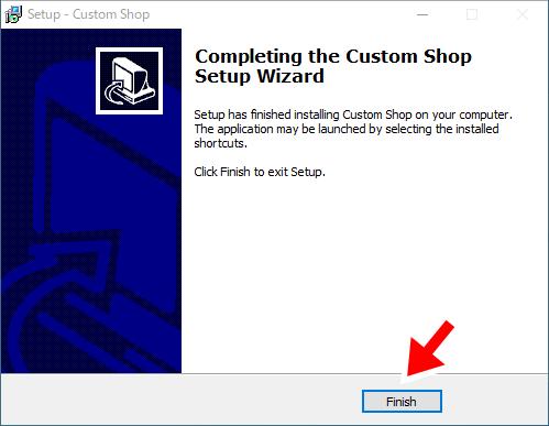 Custom Shopのインストール4