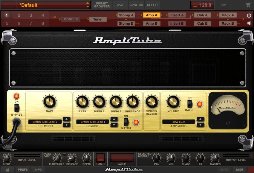 amplitube4のフリー版