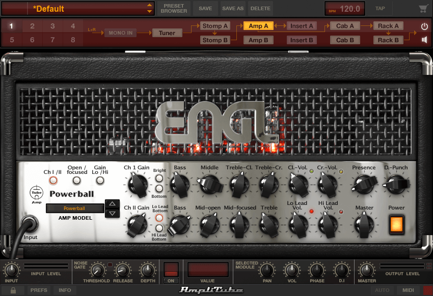 AmpliTube 4 ENGL PowerBall