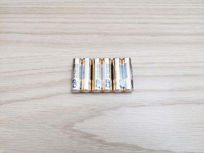 単三電池6本
