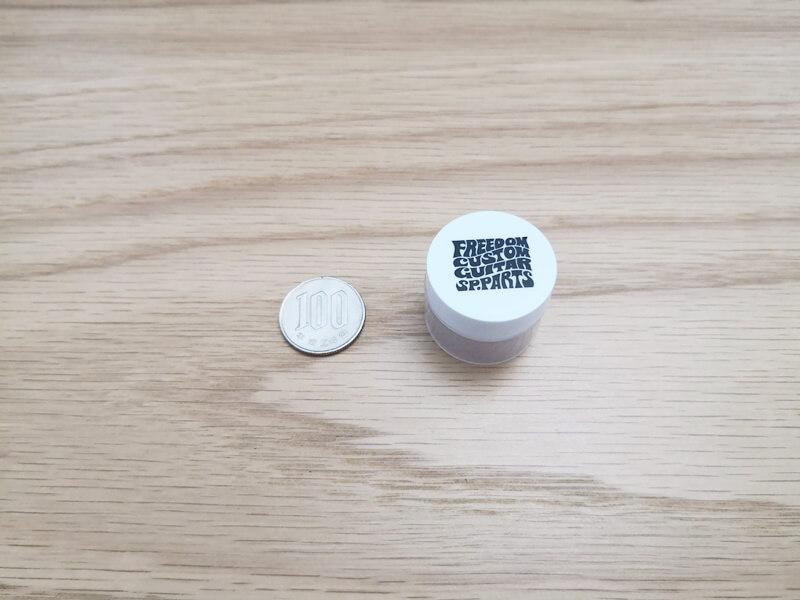 ペットボトルの蓋くらいのサイズ