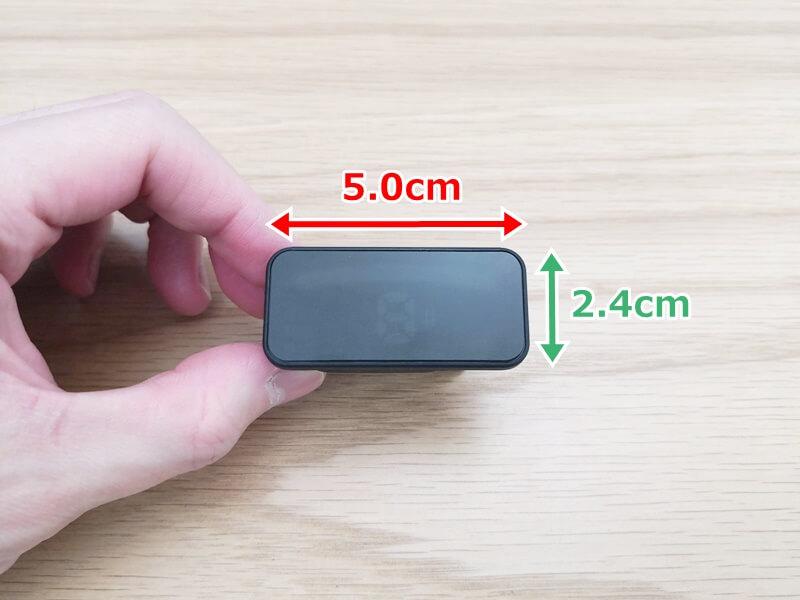 Pitchclip 2の画面のサイズ