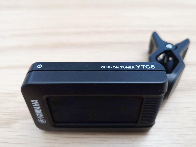 YAMAHA YTC5のプラスティック筐体