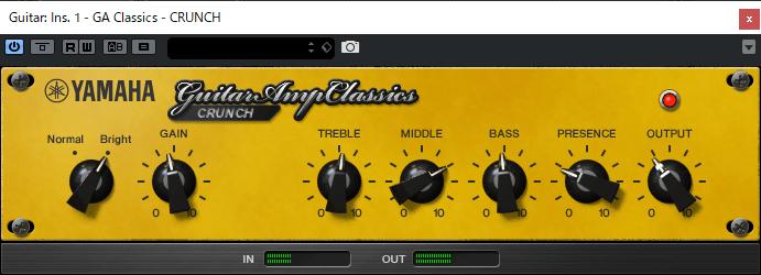 Guitar Amp Classics crunch