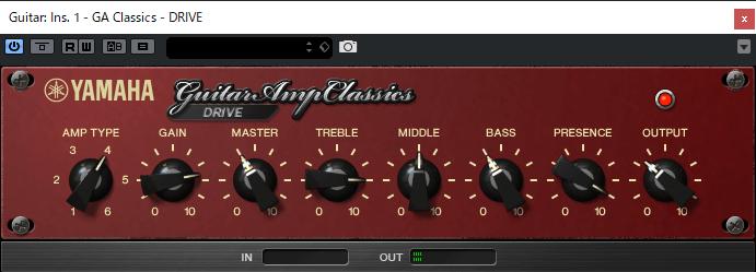 Guitar Amp Classics Drive