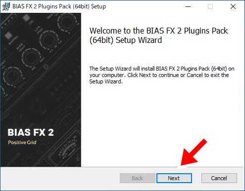 BIAS FX 2のインストール