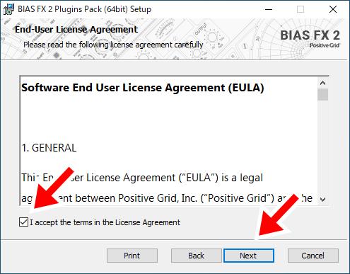 BIAS FX 2のインストール2