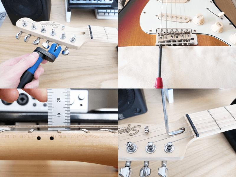 エレキギターのメンテナンス方法