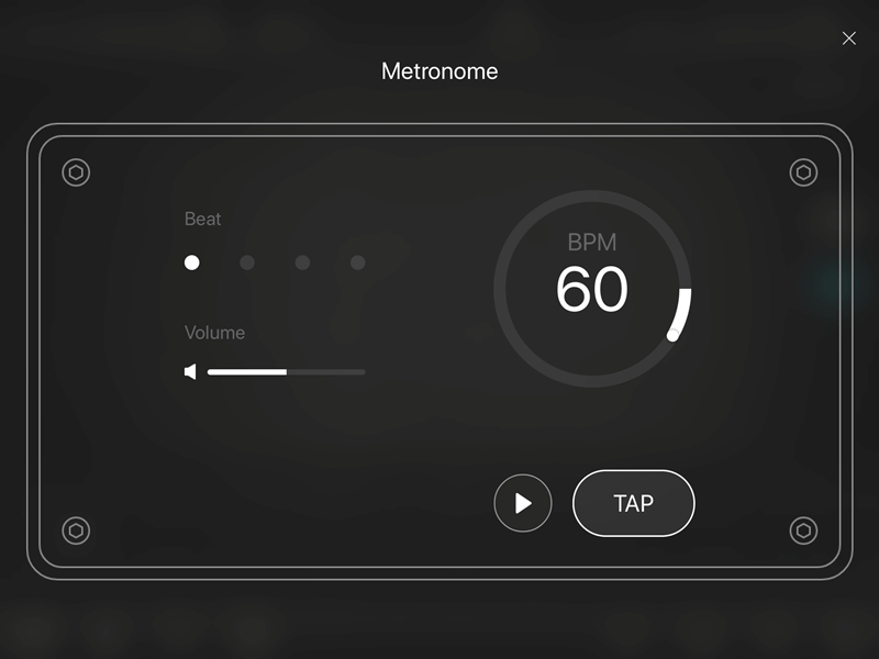 GE Labsのメトロノーム
