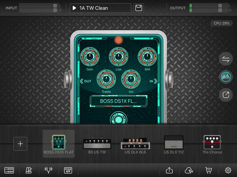 BOSS DS-1Xのサンプル
