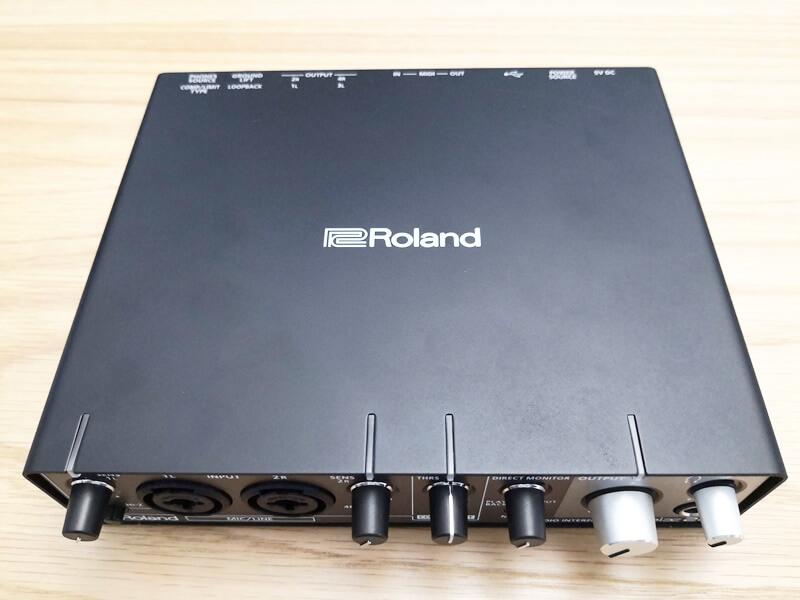 Roland Rubix24のメタルボディ