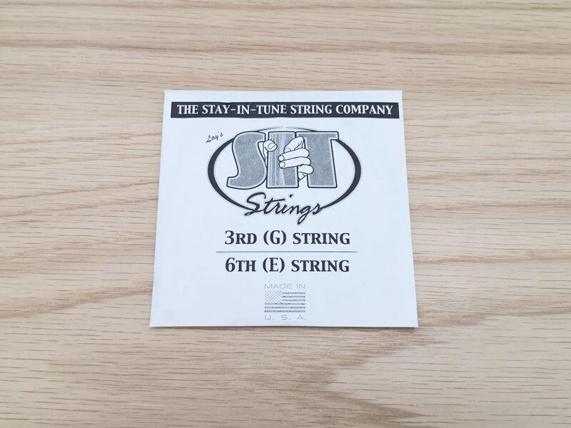 SIT エレキギター弦の紙袋