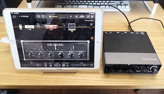 UR22CとiPadを接続する方法