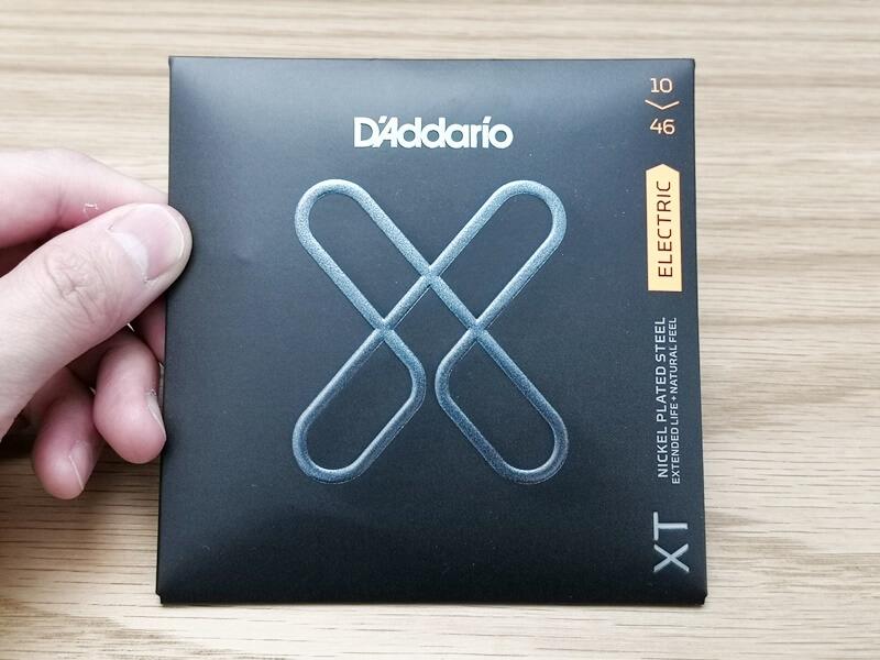 D'Addario XTのパッケージ