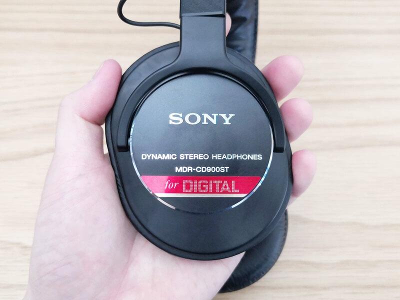 SONY MDR-CD900STのハウジング