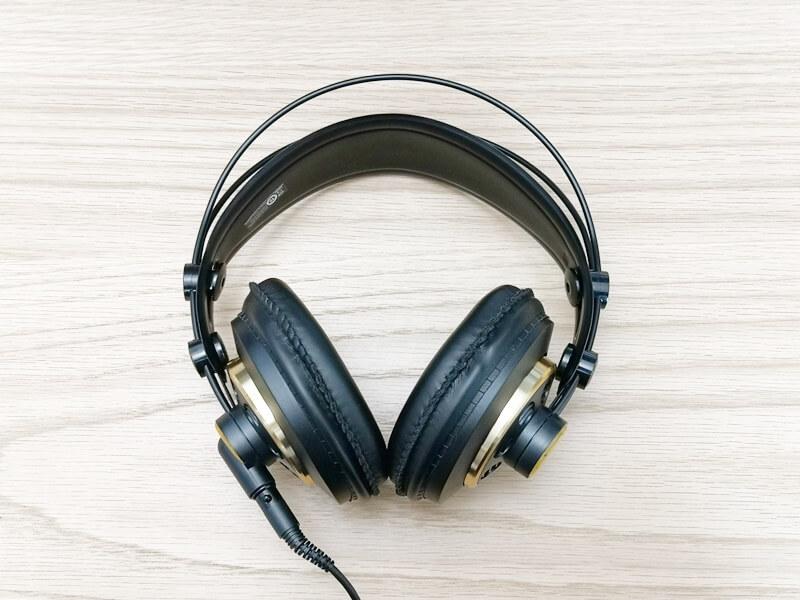 AKG K240 Studioの高級感あるデザイン