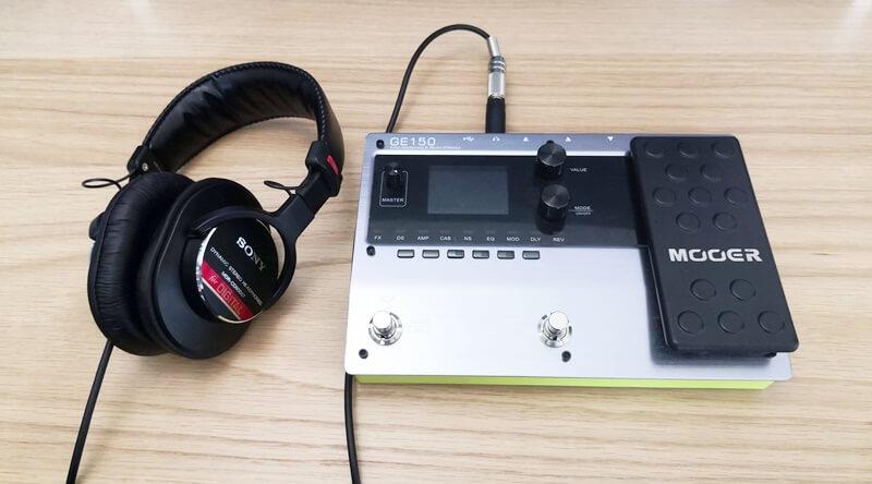 SONY MDR-CD900STをマルチエフェクターに接続する