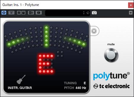 Polytuneプラグインのクロマチックモード